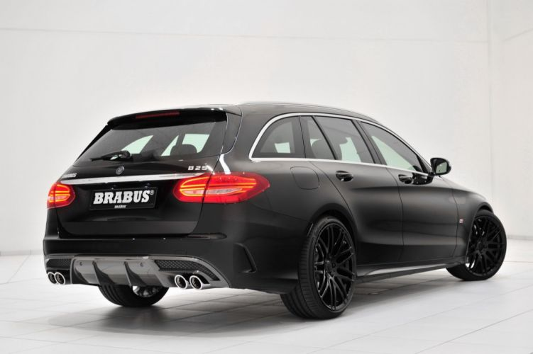 2015 Brabus Mercedes C-Class Wagon tuning cars wallpaper