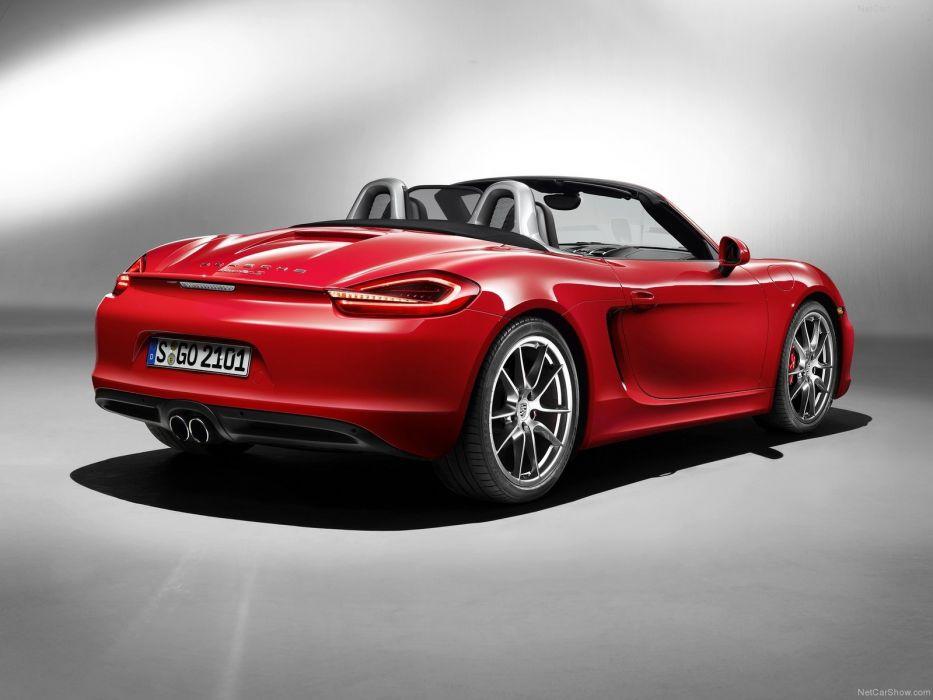 Porsche Boxster S cars 2013 wallpaper