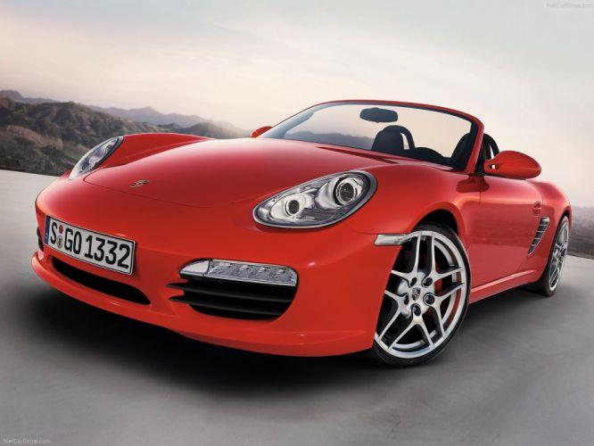 Porsche Boxster S cars 2009 wallpaper