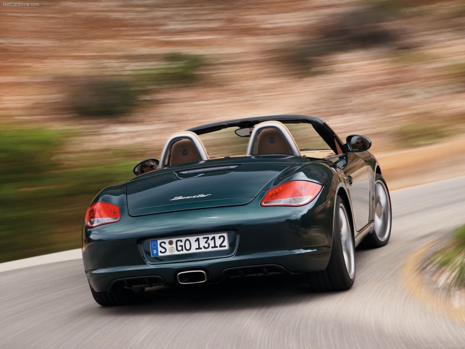 Porsche Boxster cars 2009 wallpaper