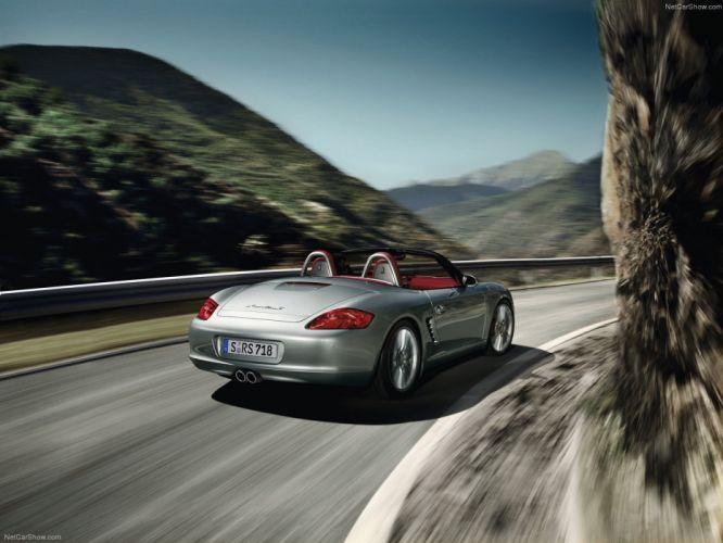Porsche Boxster RS 6 0 Spyder cars 2008 wallpaper