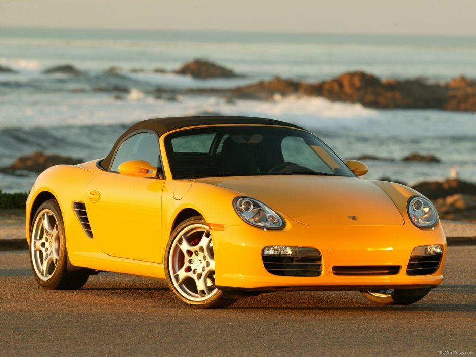 Porsche Boxster S cars 2007 wallpaper