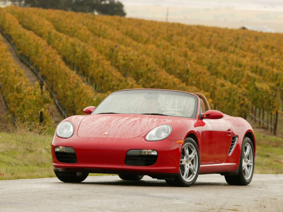 Porsche Boxster cars 2007 wallpaper