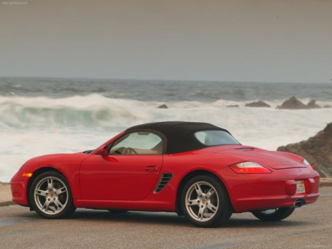 Porsche Boxster cars 2007 wallpaper