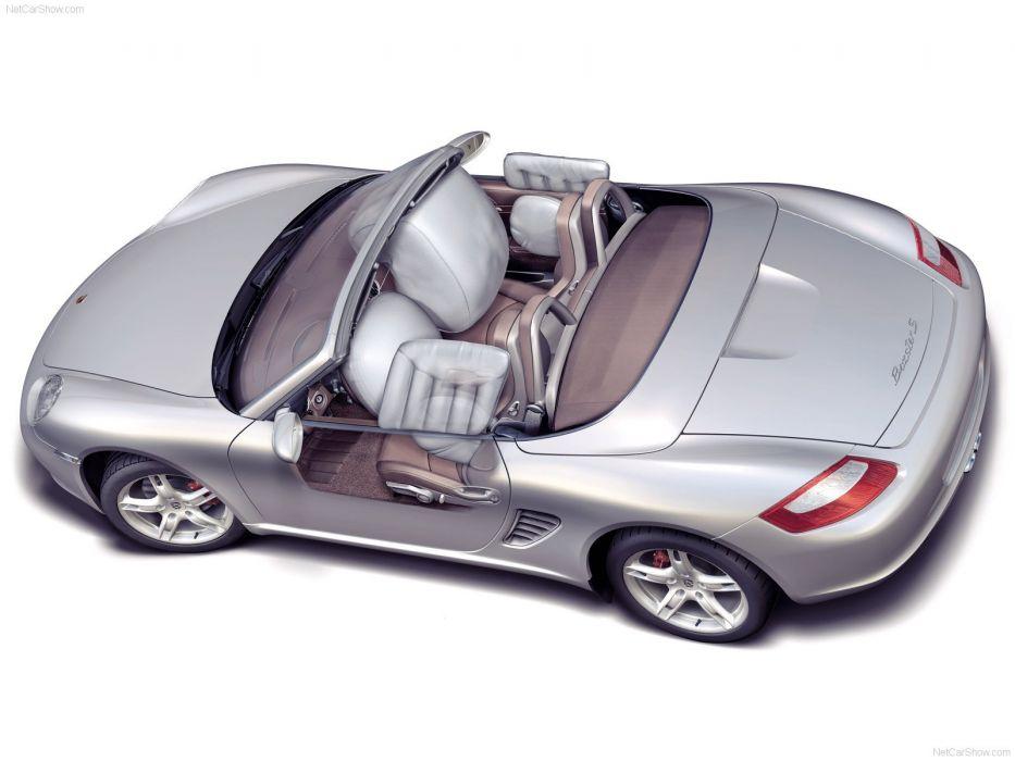 Porsche Boxster cars 2006 technical wallpaper