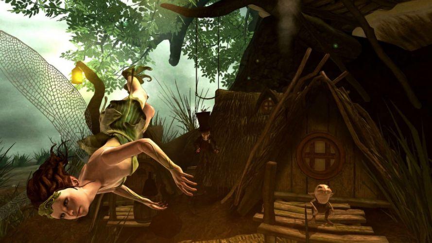 FAERY Legends of Avalon fantasy rpg adventure fairy action exploration fighting wallpaper