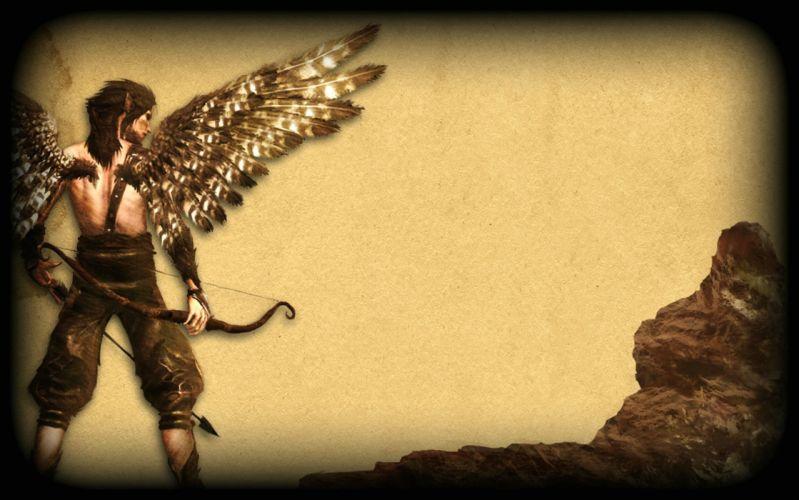 FAERY Legends of Avalon fantasy rpg adventure fairy action exploration fighting warrior archer wallpaper