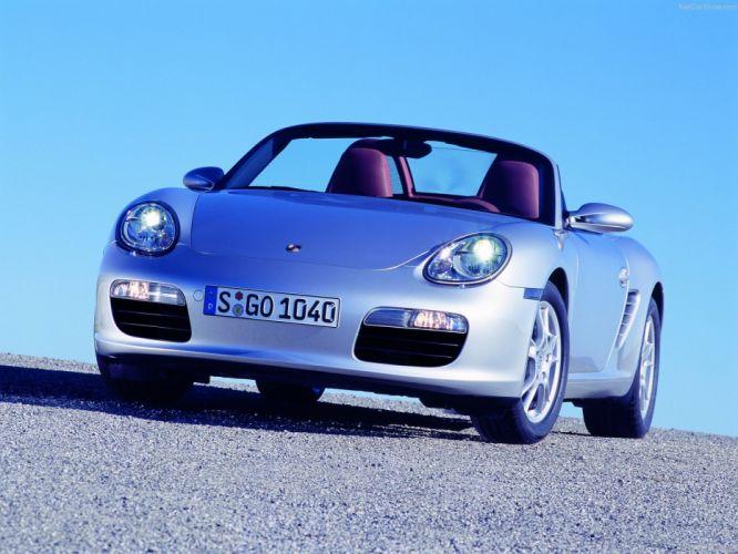 Porsche Boxster cars 2005 wallpaper
