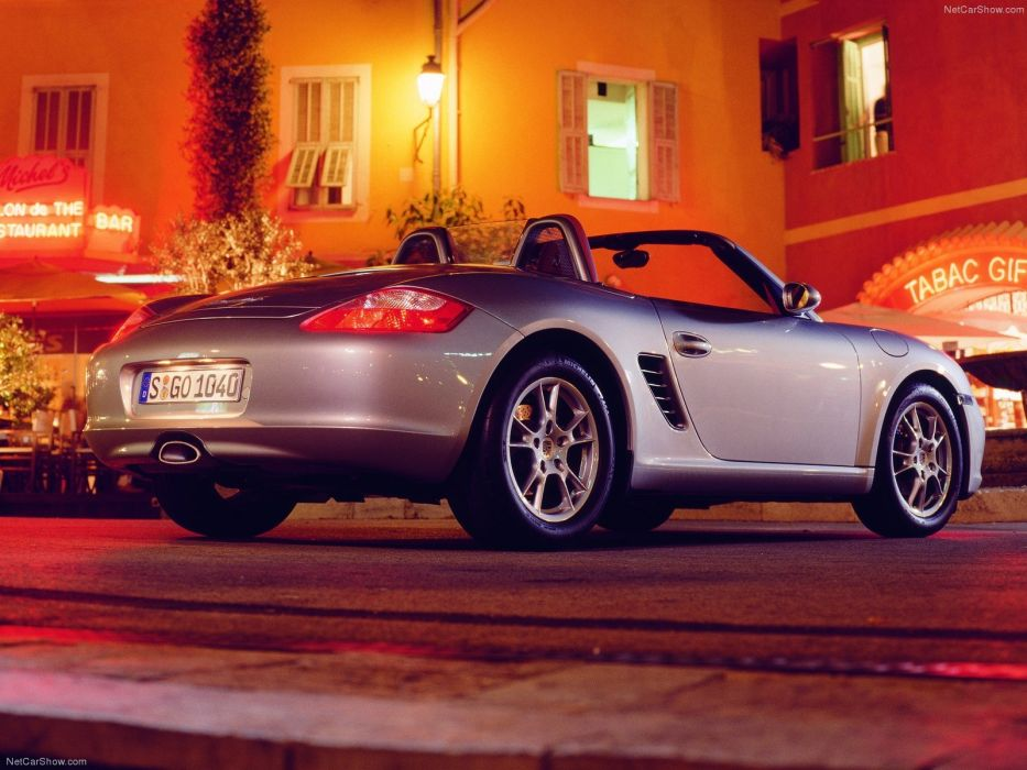 Porsche Boxster cars 2005 wallpaper