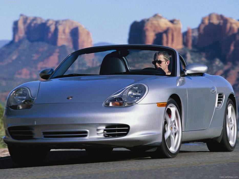 Porsche Boxster S cars 2004 wallpaper