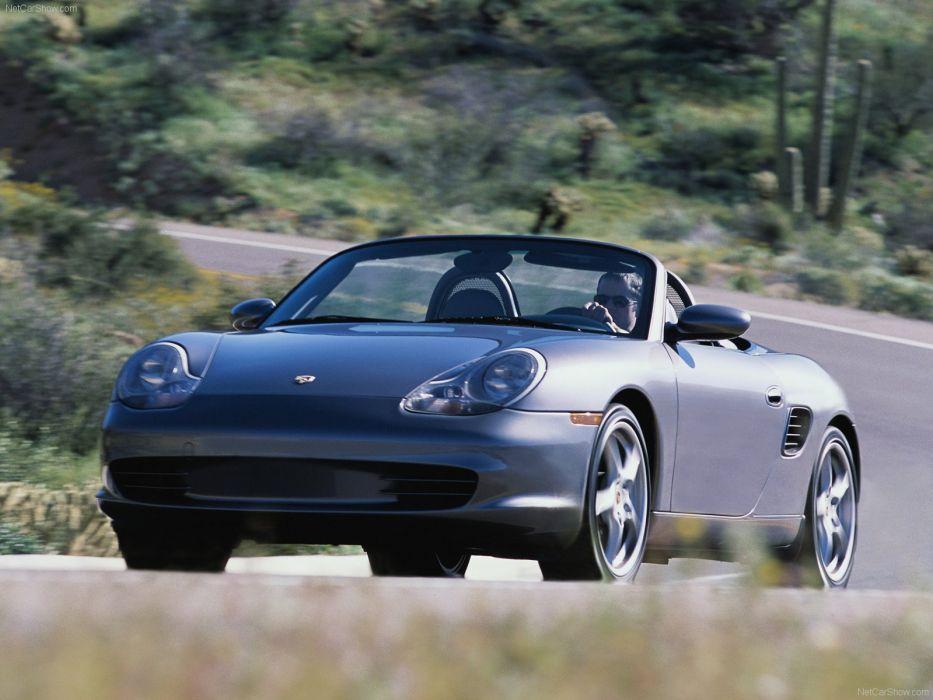 Porsche Boxster cars 2004 wallpaper