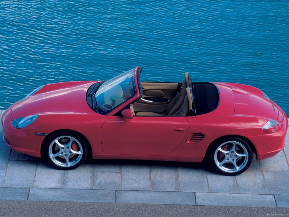 Porsche Boxster S cars 2004 wallpaper