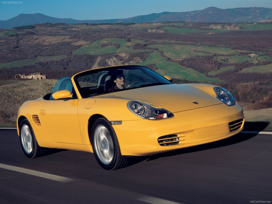 Porsche Boxster cars 2003 wallpaper