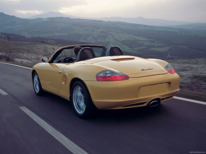Porsche Boxster cars 2003 wallpaper
