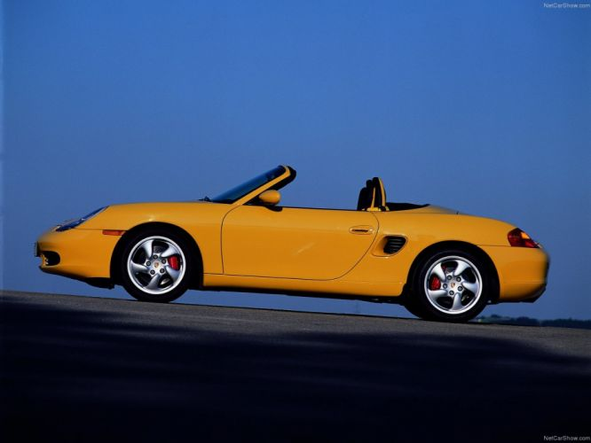 Porsche Boxster S cars 2001 wallpaper