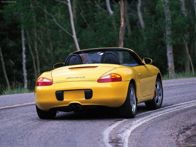 Porsche Boxster S cars 2001 wallpaper