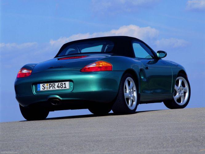 Porsche Boxster cars 2001 wallpaper