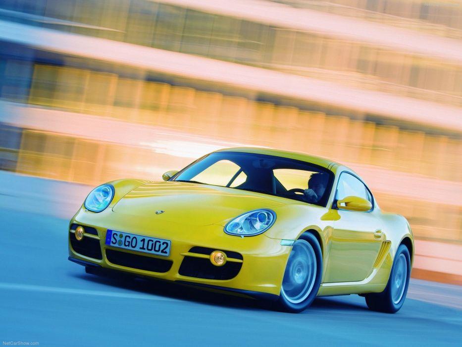 Porsche Cayman cayman cars coupe 2007 wallpaper