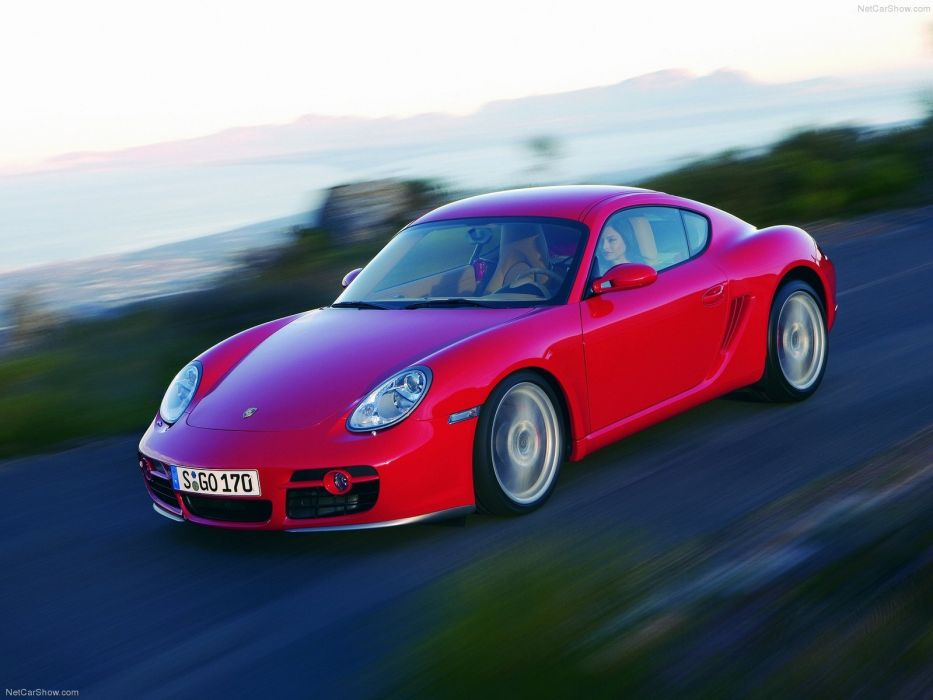 Porsche Cayman S cars coupe 2007 wallpaper