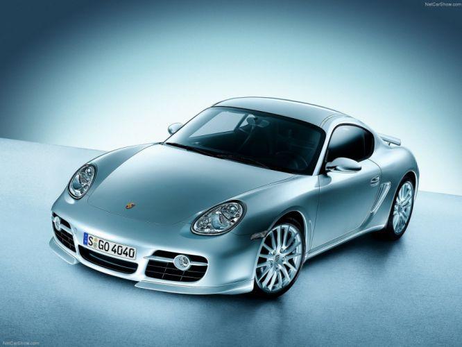 Porsche Cayman S cars coupe 2007 wallpaper
