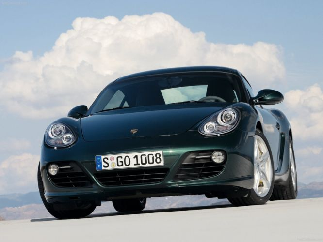 Porsche Cayman S cars coupe 2009 wallpaper