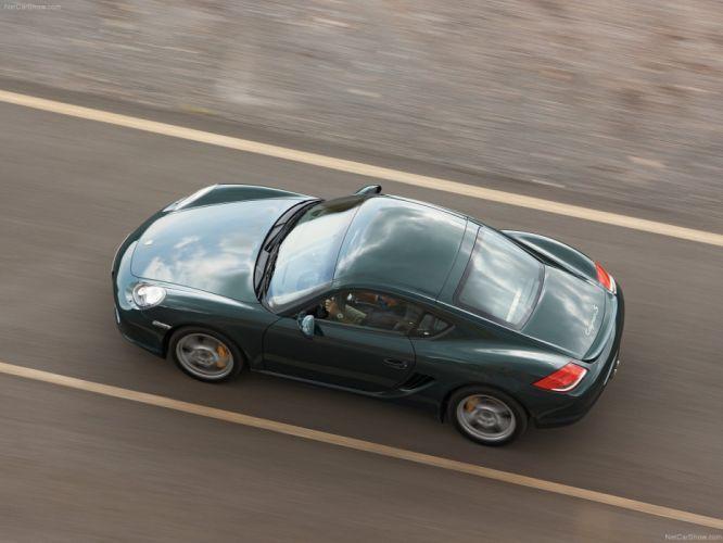 Porsche Cayman S cars coupe 2009 wallpaper