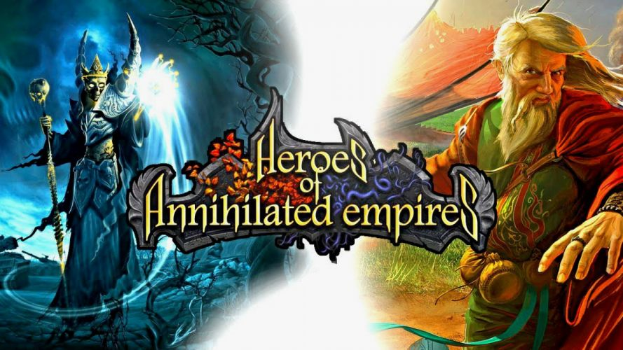 HEROES Annihilated Empires fantasy strategy rpg action fighting 1hoae elf elves series medieval magic warrior poster wallpaper