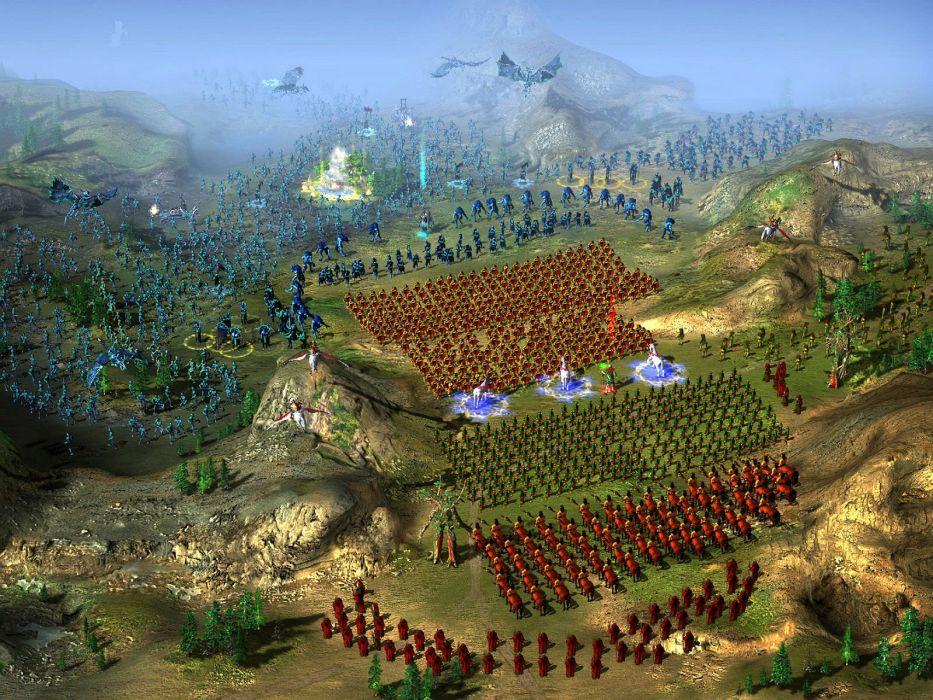 HEROES Annihilated Empires fantasy strategy rpg action fighting 1hoae elf elves series medieval warrior battle detail wallpaper