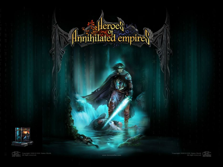 HEROES Annihilated Empires fantasy strategy rpg action fighting 1hoae elf elves series medieval warrior poster magic wallpaper