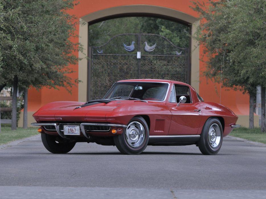 1967 Chevrolet Corvette Stig Ray Z06 Muscle Classic USA 3200x2400-03 wallpaper
