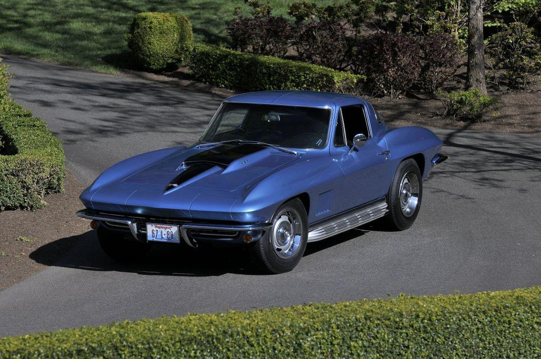 1967 Chevrolet Corvette Stig Ray Z06 Muscle Classic USA 4200x2790-04 wallpaper