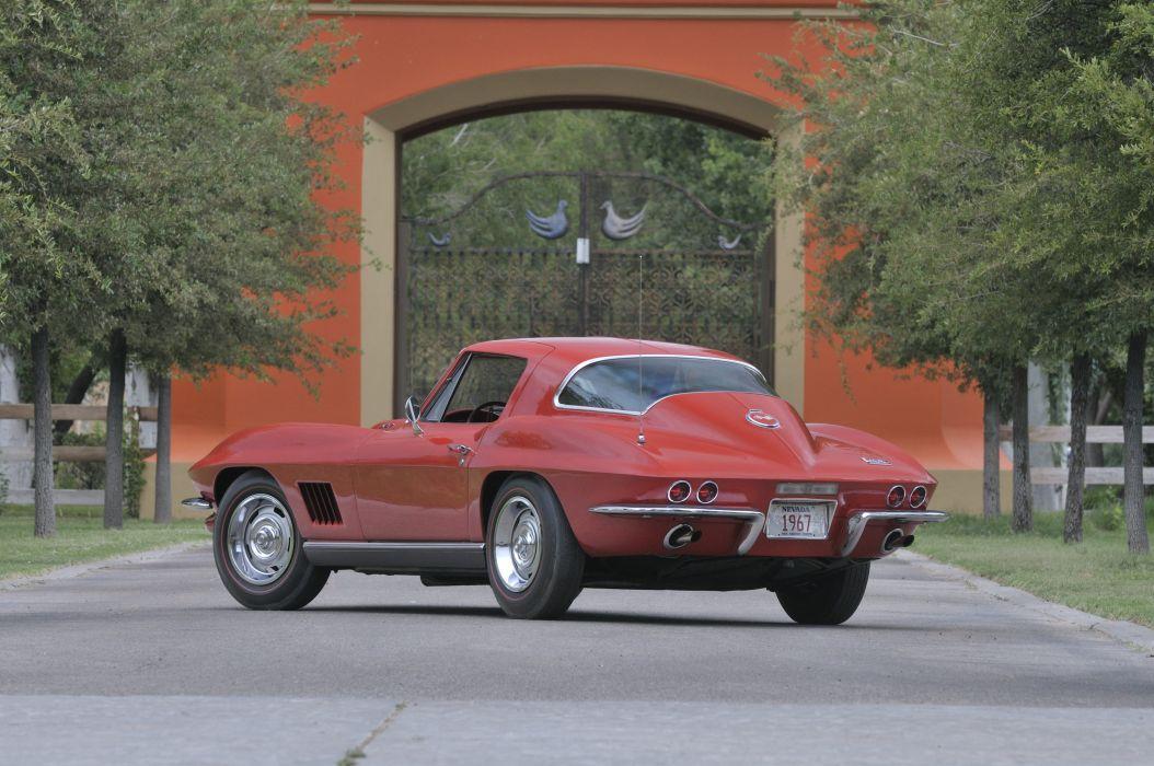 1967 Chevrolet Corvette Stig Ray Z06 Muscle Classic USA 4200x2790-02 wallpaper