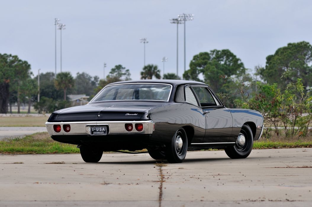 1968 Chevrolet Biscayne L72 Muscle Classic USA 4200x2790-02 wallpaper