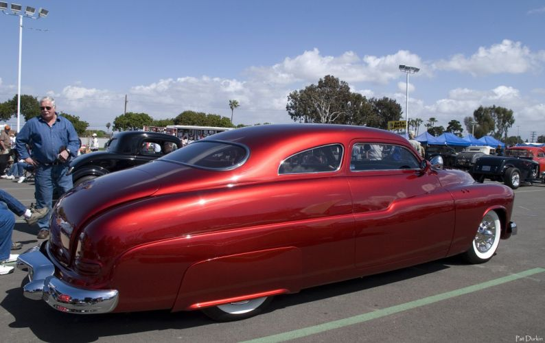 1949 Mercury Coupe Custom Kustom Low USA 1600x1008-08 wallpaper