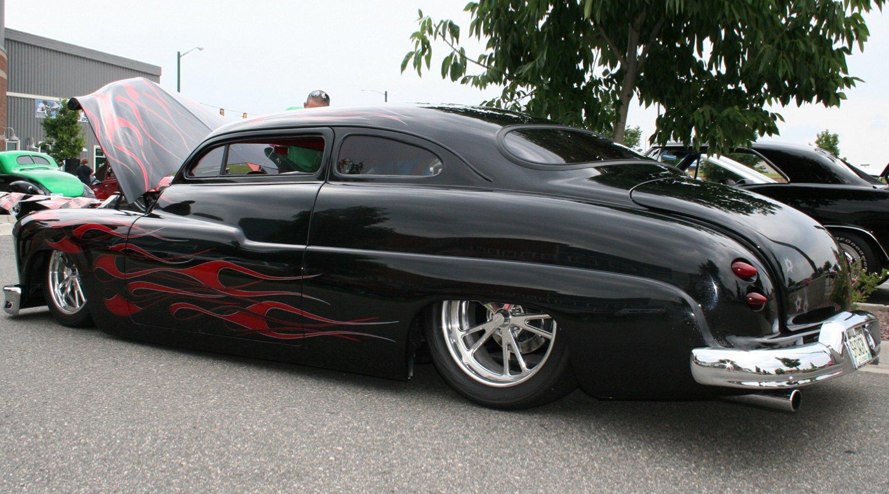 1949 Mercury Coupe Custom Kustom Low Usa 1800x1000 10