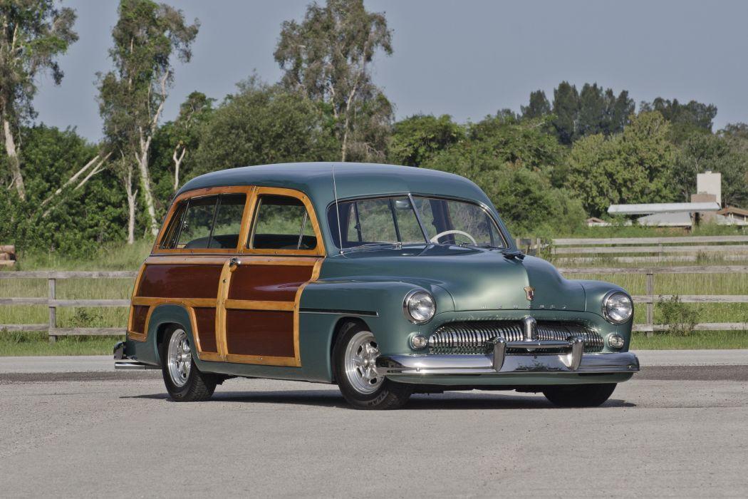 1949 Mercury Woody Wagon Hotrod Streetrod Hot Rod Street USA Old Retro USA 4200x2800-01 wallpaper