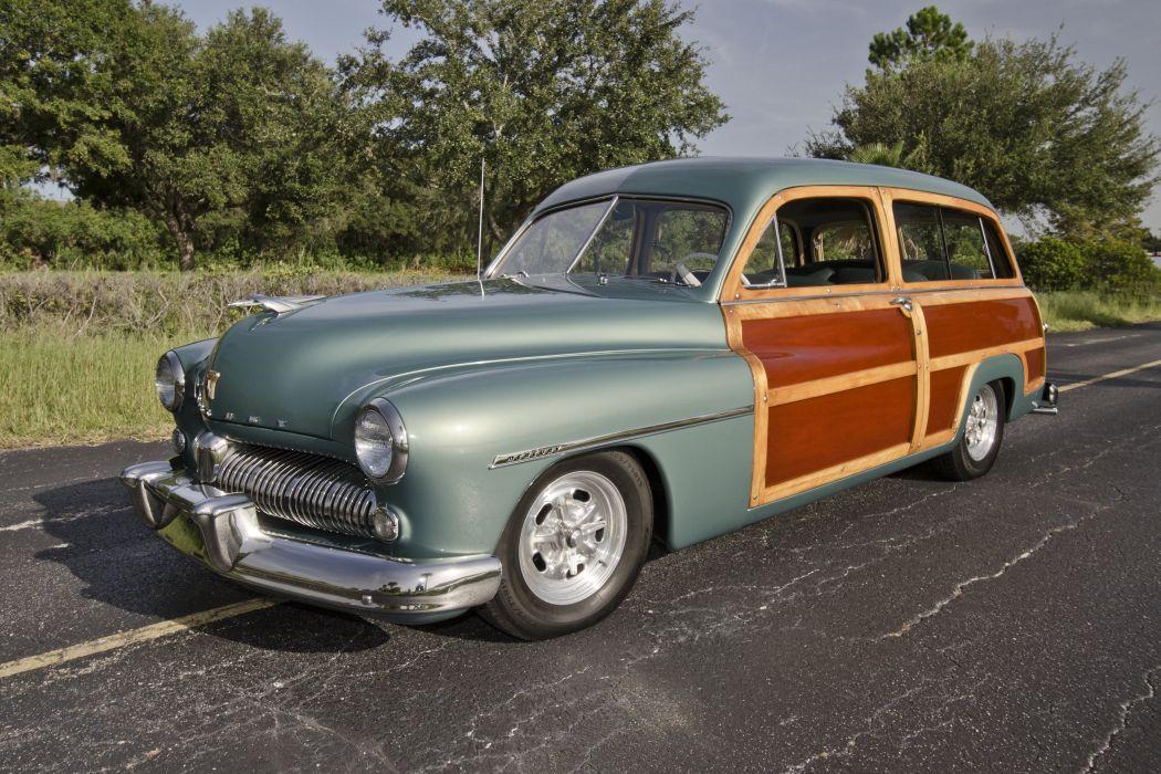 1949 Mercury Woody Wagon Hotrod Streetrod Hot Rod Street USA Old Retro USA 4200x2800-05 wallpaper