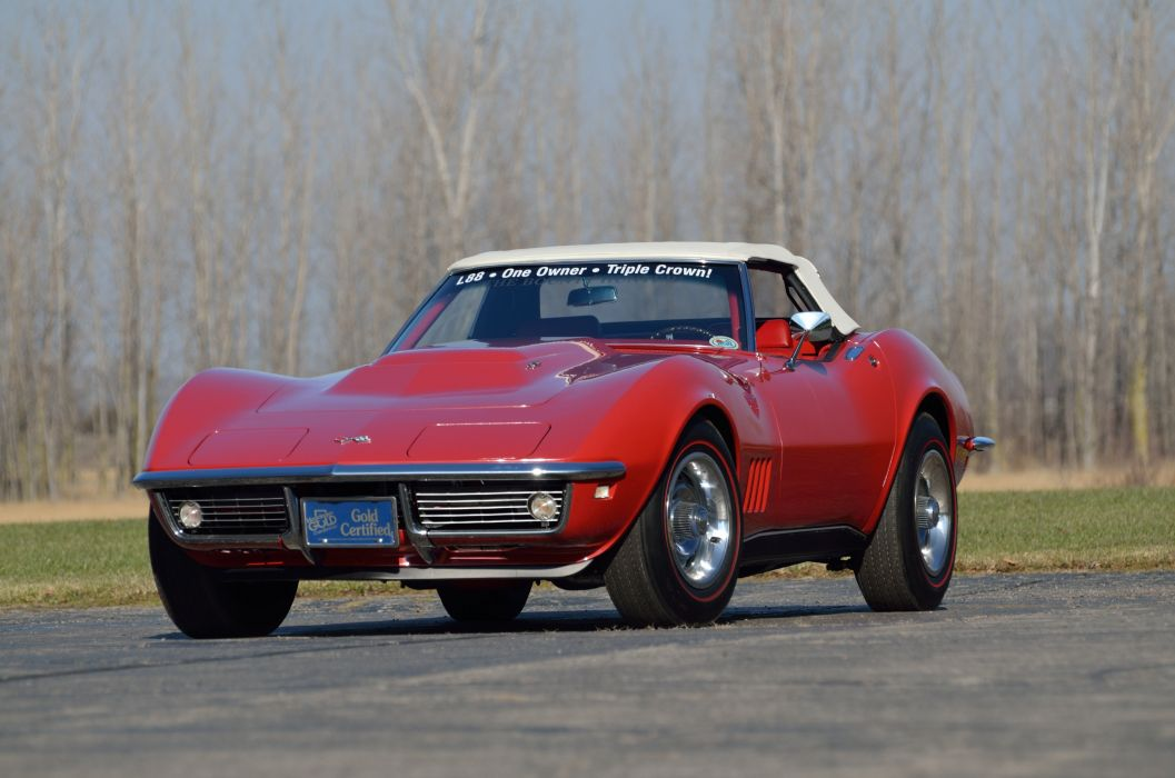 1968 Chevrolet Corvette L88 427 Convertible Muscle Classic USA 4200x2790-14 wallpaper