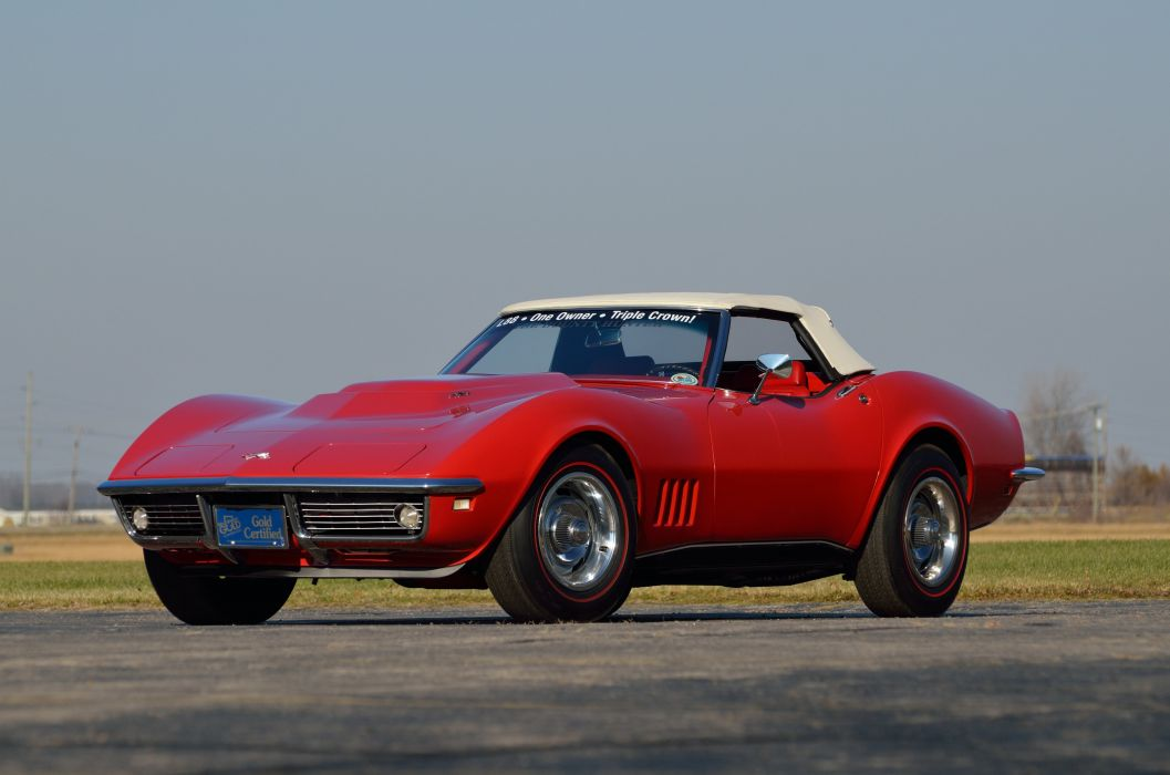 1968 Chevrolet Corvette L88 427 Convertible Muscle Classic USA 4200x2790-12 wallpaper