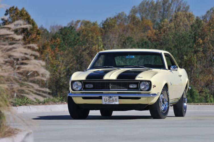 1968 Chevrolet Camaro Z28 Muscle Classic USA 4200x2790-03 wallpaper