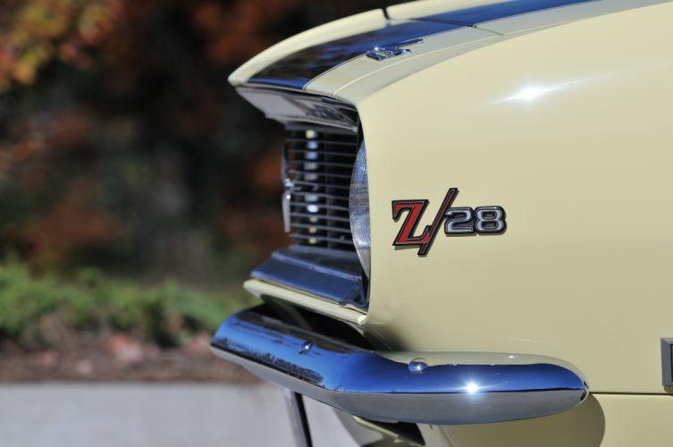 1968 Chevrolet Camaro Z28 Muscle Classic USA 4200x2790-07 wallpaper