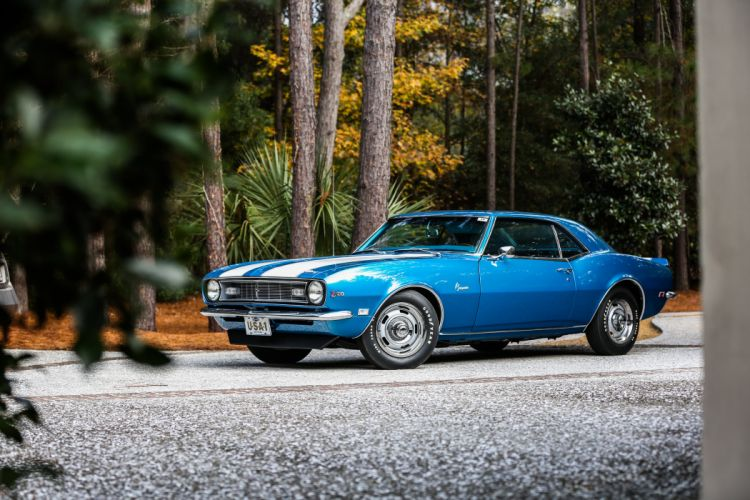 1968 Chevrolet Camaro Z28 Muscle Classic USA 4200x2800-01 wallpaper