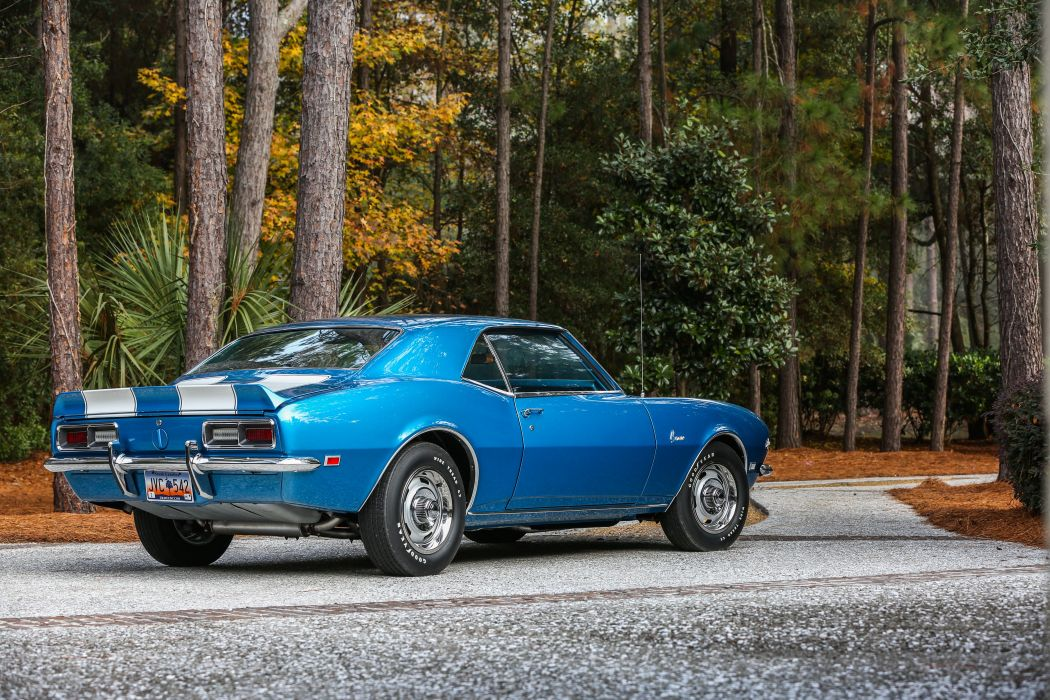 1968 Chevrolet Camaro Z28 Muscle Classic USA 4200x2800-04 wallpaper