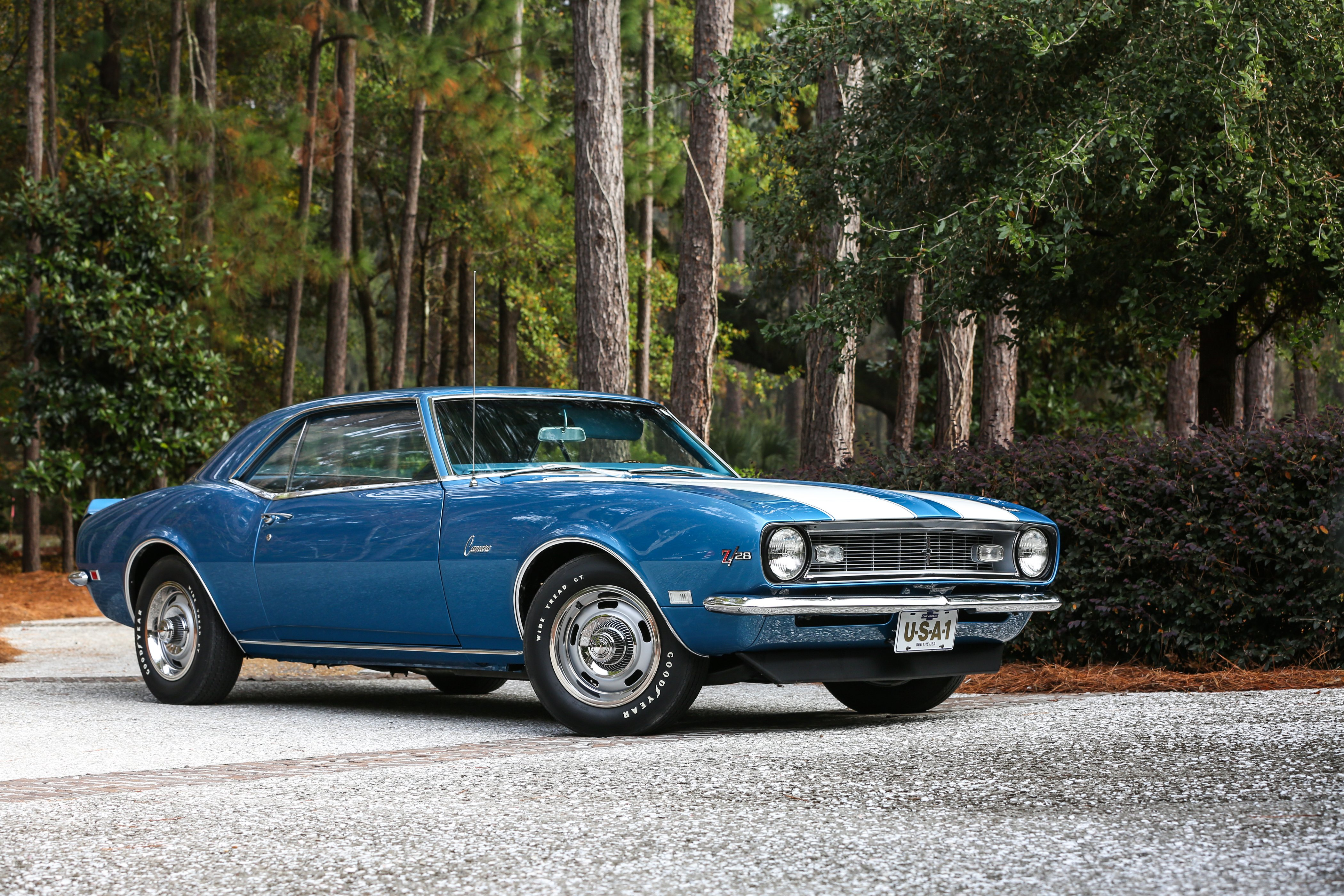 1968 Chevrolet Camaro Z28 Muscle Classic USA 4200x280002