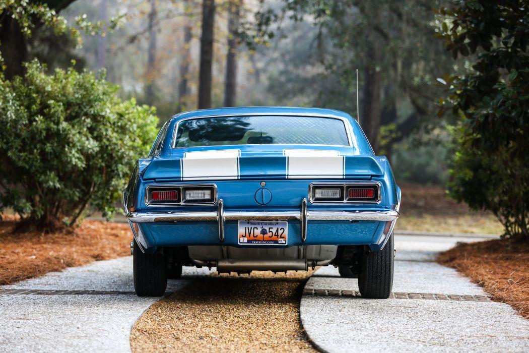 1968 Chevrolet Camaro Z28 Muscle Classic USA 4200x2800-05 wallpaper