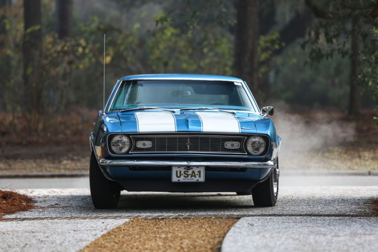 1968 Chevrolet Camaro Z28 Muscle Classic USA 4200x2800-06 wallpaper