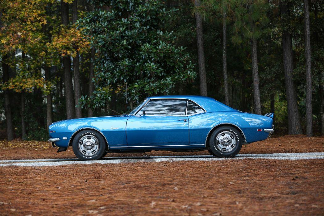 1968 Chevrolet Camaro Z28 Muscle Classic USA 4200x2800-10 wallpaper
