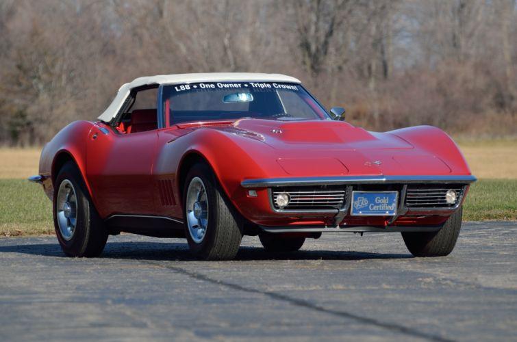 1968 Chevrolet Corvette L88 427 Convertible Muscle Classic USA 4200x2790-08 wallpaper