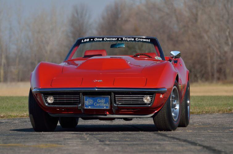 1968 Chevrolet Corvette L88 427 Convertible Muscle Classic USA 4200x2790-10 wallpaper