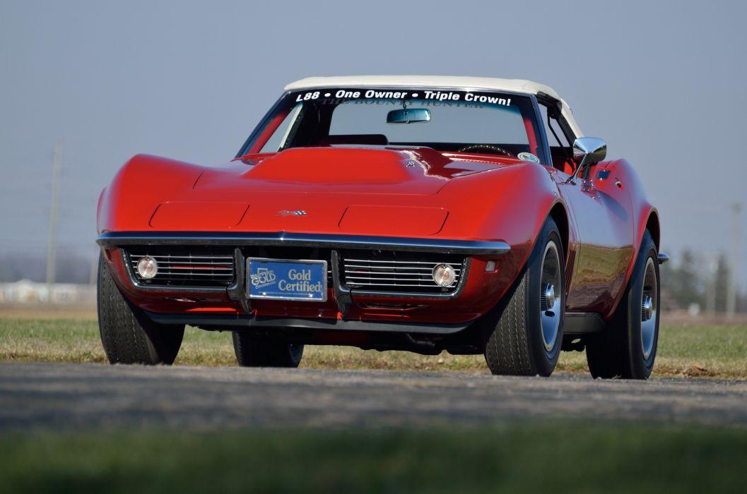 1968 Chevrolet Corvette L88 427 Convertible Muscle Classic USA 4200x2790-11 wallpaper